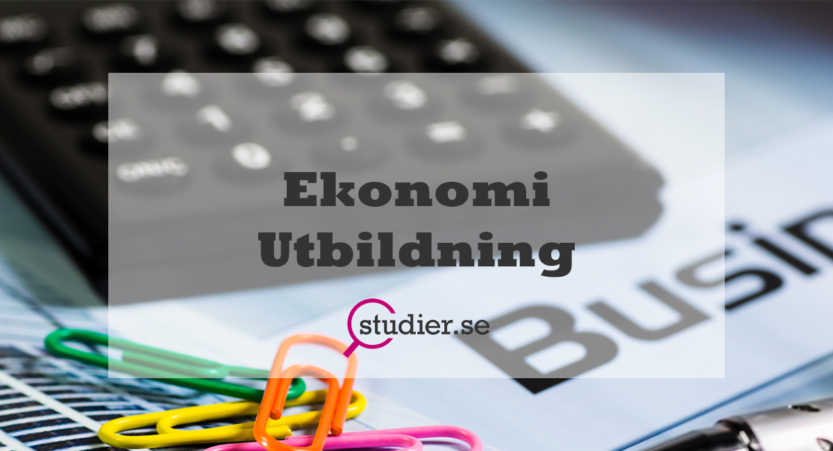 Ekonomi utbildning