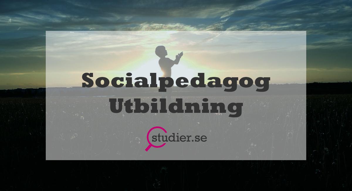 Socialpedagog Utbildning