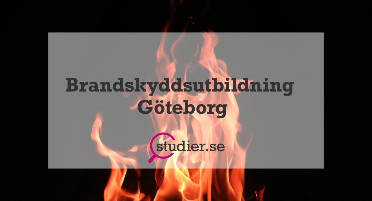 Brandskyddsutbildning Göteborg