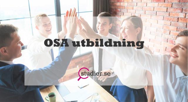 OSA utbildning Organisatorisk och social arbetsmiljö utbildning