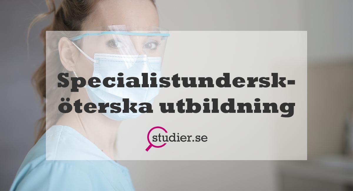 specialistundersköterska utbildning