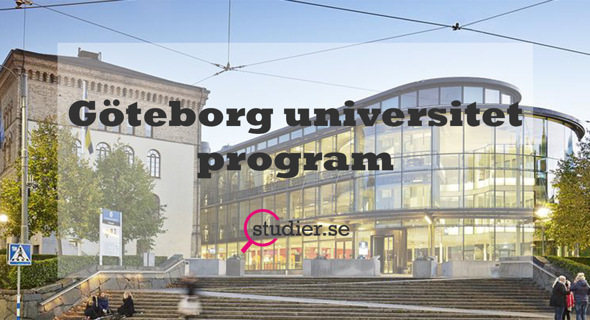 Göteborgs universitet program